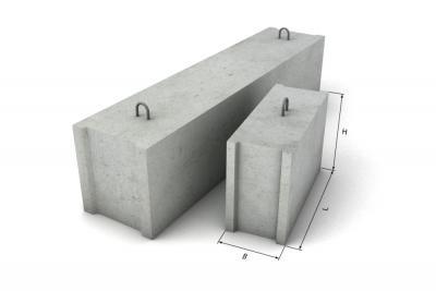 Фундаментный блок ФБС 12.4.3 т