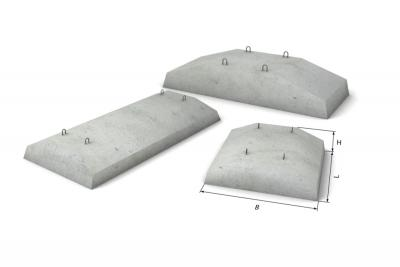 Фундаментная подушка ФЛ12.8-4