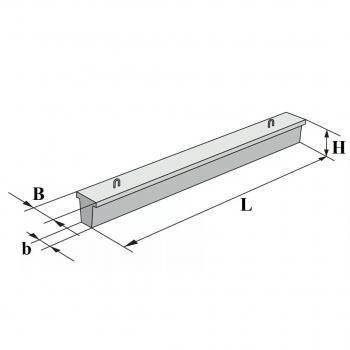 Фундаментная балка 2БФ40-1