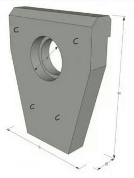 Портальные стенки СТ8(Ф600мм)