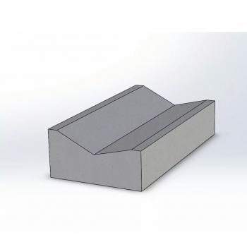 Лоток прикромочный Б1-20-50