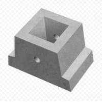 Блок фундаментный Ф2